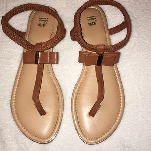 Brown Causal Sandals